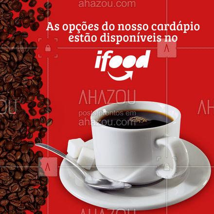 Nossos cafés e receitas serão entregues na sua casa!  #ahazoutaste  #cafeteria #café #coffee #barista #coffeelife