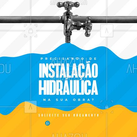 Conte com quem tem experiência e vontade de por a mão na massa! ? #encanador #encanamento #AhazouServiços #instalaçãohidráulica #sistemahidráulico