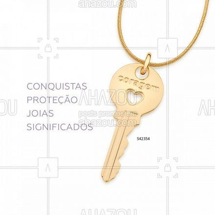 As joias com significados sempre tiveram lugar de destaque na joalheria moderna e dão um toque único e de personalidade nos looks!  #Rommanel #BestFriday #ref542354 #ahazourommanel #ahazourevenda