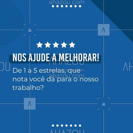 A sua avaliação é muito importante para melhorarmos os nossos serviços! ? #avaliação #feedback #AhazouAuto #automotivos #servicoautomotivo #carros #AhazouAuto