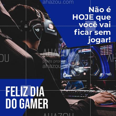 Se sua maquina ou console deu ruim logo hoje, no dia do Gamer, não tem problema! Nós solucionamos para você!  #gamer #comemoração #internacional #playstation #vidiogame #twitch #gamergirl
