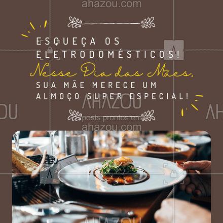 Nesse Dia das Mães, prepare uma surpresa mega especial para ela! Conheça nosso cardápio e escolha um prato maravilhoso! Entre em contato! #gastronomy #foodie #gastronomia #ahazoutaste #foodlover #culinaria #instafood #mae #diadasmaes #felizdiadasmaes