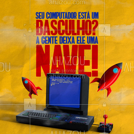 Basculho aqui não! Estou te esperando pra gente deixar o seu computador voando! ?   #AhazouTec   #computadores #eletrônicos #AssistenciaTecnica #AssistenciaTecnica #meme #bbb21 #engracado #basculho