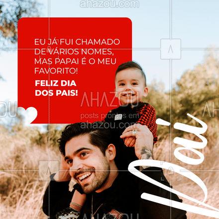 Um Feliz Dia dos Pais para todos os nossos papais. #ahazou  #frasesmotivacionais #motivacionais #motivacional