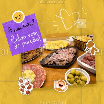 Para matar a sua fome que tal uma deliciosa porção? Entre em contato e peça pelo delivery! #meatlover #bar #pub #ahazoutaste #eat #ahazoutaste #ilovefood #instafood #foodlovers #porçao #porçoes #happyhour #churrasco #delivery