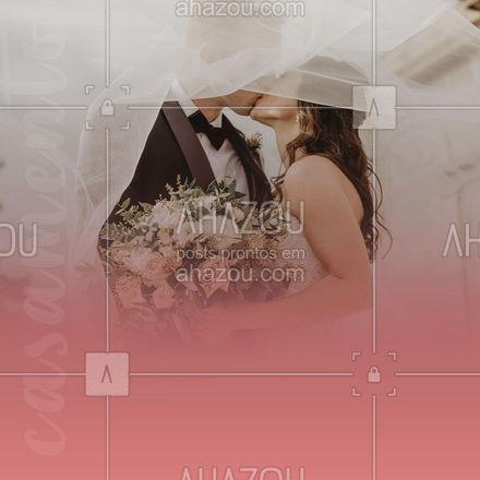 O seu grande dia merece a melhor equipe possível, conte com a gente! 🥰 #casamento #festadecasamento #ahazoutaste #buffet #eventos #ahazoutaste