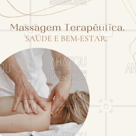 Agende seu horário e desfrute dos benefícios que a Massagem Terapêutica tem para te proporcionar! Entre em contato. #AhazouSaude #massagemterapeutica  #massoterapia  #relax  #massoterapeuta  #massagem