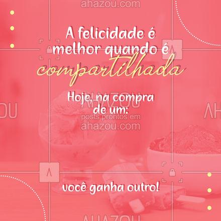 Divida com quem é importante para você e celebre o dia da melhor maneira possível.  #ahazoutaste  #cupuaçú #gelados #sorvete #açaí