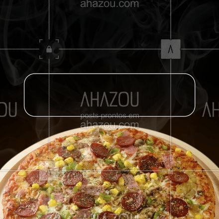 Você é convidado VIP para a nossa inauguração dia [Inserir data e horário]. ?  #ahazoutaste  #pizzaria #pizza #pizzalife #pizzalovers #inauguracao