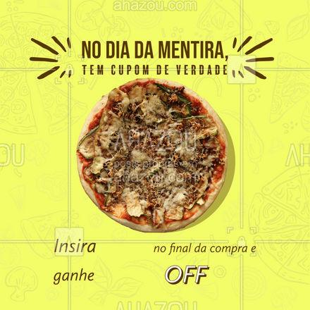 Vale só por hoje, hein! Aproveita a noite com sua pizza favorita e desconto.  #ahazoutaste  #pizzaria #pizza #pizzalife #pizzalovers