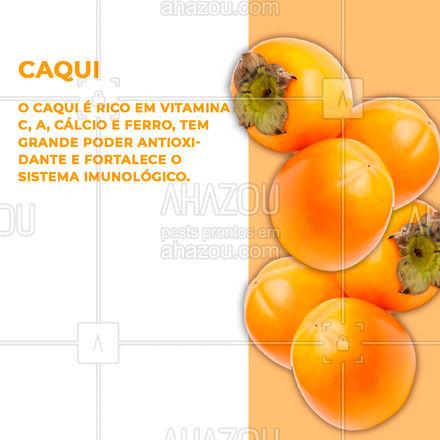 O inverno é uma estação que oferece muitas frutas que fazem muito bem para a nossa saúde. Conheça agora 5 dessas frutas! ?? #frutas #inverno #AhazouSaude #bemestar #saude #alimentacaosaudavel #AhazouSaude