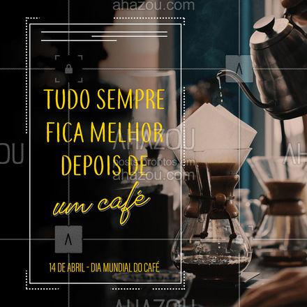 Para deixar o seu dia ainda venha tomar um café com a gente e aproveite para provar nossas delícias feitas de café! #padaria #panificadora #bakery #confeitaria #ahazoutaste #bolo #doces #confeitariaartesanal #docinhos #foodlovers#cafe #diamundialdocafe #sobremesadecafe #cafequentinho #coffelovers #coffe