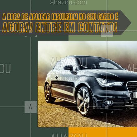 Sempre sonhou em aplicar insulfilm no seu carro? Então a hora é agora, entre em contato e agende seu horário! #automotivos #esteticaautomotiva #servicoautomotivo #carros #AhazouAuto #insulfilm #aplicaçaodeinsulfilm