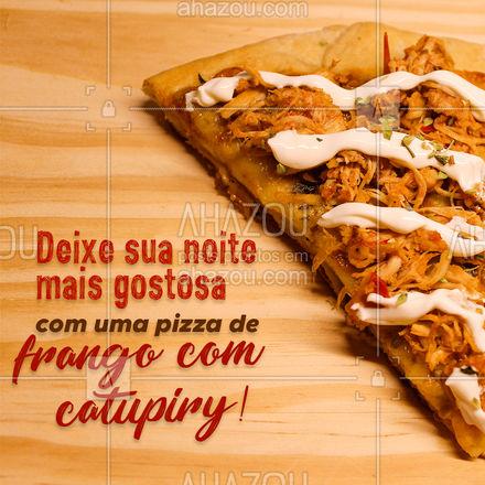 É praticamente impossível resistir a uma delícia dessas! Então não perca tempo e peça já a sua! #pizzaria #pizza #ahazoutaste #pizzalife #pizzalovers #sabores #opçoes