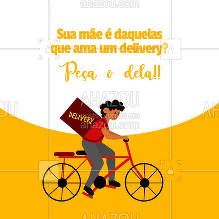 Nossa mãe faz tanto pela gente, que tal nesse dia especial você surpreender ela? Peça um delivery! #ahazoutaste #gastronomy #foodie #gastronomia #foodlover #culinaria #instafood #mães #diadasmães