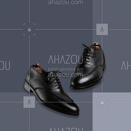 Procurando por sapatos sociais? 🤔 Conheça a nossa coleção! 😉 #sapato #calçado #modaparahomens #ahazoufashion #style #menswear