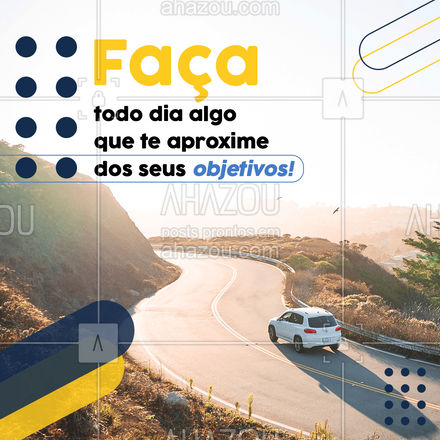Que o seu foco seja um exercício diário! Para chegar onde você almeja pode não ser fácil, mas quem disse que você não é capaz!? Siga firme!  #AhazouAuto  #carros  #mecanica  #automotivos  #servicoautomotivo