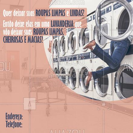 Precisou de uma lavanderia que vai deixar suas roupas limpas e lindas? Então aqui é o lugar certo! Roupa limpa, cheirosa, macia e lindas para você. #Lavanderia #RoupaLimpa #Ahazou #RoupaCheirosa #RoupaMacia