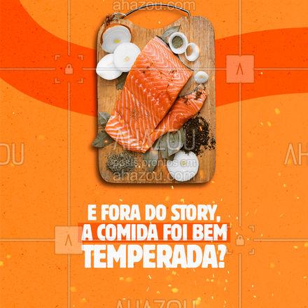 Ficou realmente bem temperada ou é tudo filtro? ?  #ahazoutaste #gastronomy  #foodie  #gastronomia  #foodlover  #culinaria #meme