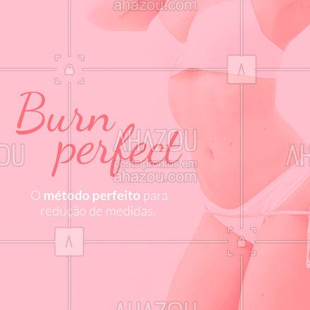 Contrate seu pacote e experimente os benefícios do método Burn para sua saúde.  #AhazouBeauty #saúde  #beleza  #esteticacorporal #tratamento #reduçãodemedidas #massagem #metodoburn