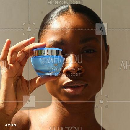 Pele super hidratada, fortalecida e saudável com o Renew Pro Vita D! #TodaVitaminada  #ahazouavon #ahazourevenda