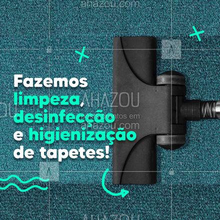 Solicite nossos serviços de limpeza, desinfecção e higienização de tapetes. ? #LimpezadeTapetes #Higienização #LavagemSeco