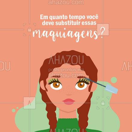 Não deixe passar a data, tá bom? Isso pode prejudicar sua pele e causar alergias.  #carrosselahz #AhazouBeauty  #bemestar #esteticafacial #skincare #saúde #beleza #makeup