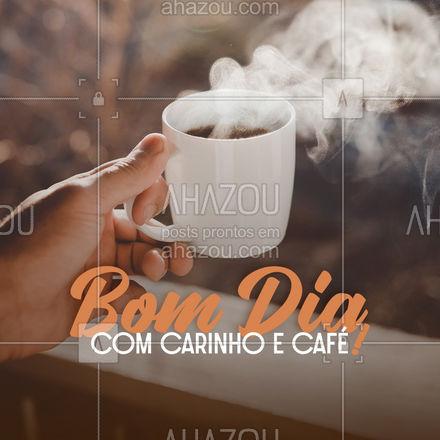 Comece acreditando no café! Bom dia! #ahazoutaste #cafeteria  #café  #coffee  #barista  #coffeelife #frases #motivacional #bomdia