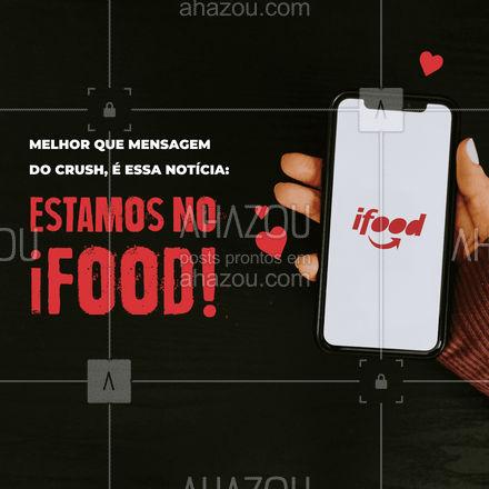 Dá até vontade de imprimir e colocar essa notícia em um quadro, né? ? Faça seu pedido! #ahazoutaste #gastronomy #instafood #foodie #foodlover #culinaria #gastronomia #pedido #ifood #online #delivery