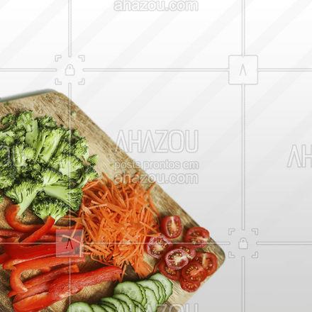 Aqui você encontra legumes e fruta de qualidade já cortadinhos! Vem pra cá! ? #ahazoutaste  #hortifruti #organic #qualidade #alimentacaosaudavel #vidasaudavel #mercearia #frutas #legumescortados #legumes #produtosdequalidade