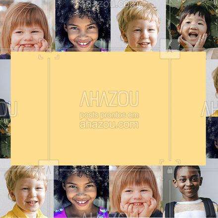 Que tal deixar o dia das crianças ainda mais especial?! Estamos aceitando doações de (COLOQUE AQUI O ITEM A SER DOADO) para tornar este dia ainda mais incrível! Nos ajude a colocar um sorriso no rosto de uma criança ? #DiaDasCrianças #doações #ahazou #motivacional