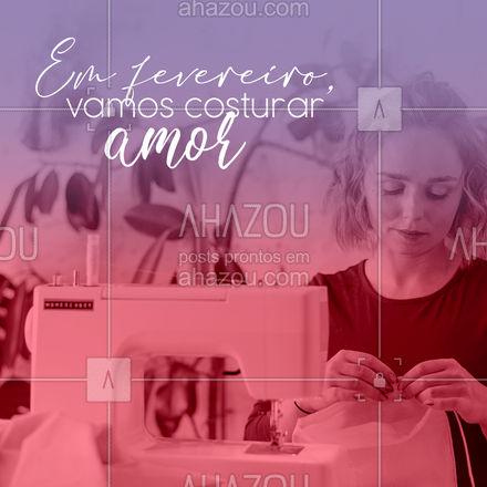 Afinal, amor nunca é demais! ??? #costura #reparos #AhazouFashion #costuraereparos #modasustentavel #fashion #AhazouFashion