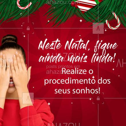 Aproveite o Natal para se presentear! ??  #PresentedeNatal #SePresenteie #Autocuidado #AhazouBeauty  #estetica #beauty #beleza
