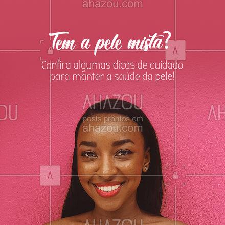 O mais importante para a pele normal é manter os poros com aparência suave e continuar com os resultados de uma boa rotina de skincare. Já que você não precisa se preocupar com a sensação de estar com a pele muito seca, nem oleosa demais, invista em cremes que cuidam de outros aspectos. #AhazouBeauty #bemestar #esteticafacial #limpezadepele #peeling #beleza #saúde #skincare #AhazouBeauty