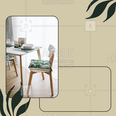 Mantenha um ambiente intimista e sofisticado com a nossa mesa posta! ? #mesaposta #costura #AhazouFashion  #costuraereparos #costureira