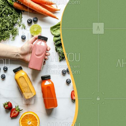 Qual o seu sabor de vitamina preferido? Me conta nos comentários, e eu tenho certeza que você encontra ela aqui prontinha te esperando? #ahazoutaste #vitamina #bebida #hortifruti #convite #frutas #vidasaudavel #mercearia