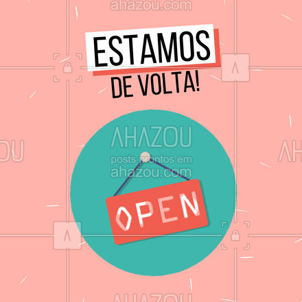 Estamos de volta e trouxemos novidades! #AhazouFashion #moda #fimdasferias #comunicado