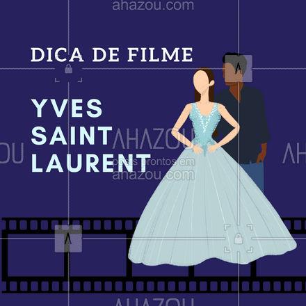 O filme que conta a biografia do estilista Yves Saint Laurent já virou um clássico para os amantes de moda. Se você ainda não assistiu vale a pena assistir! #fashion #style #AhazouFashion #moda #dica #dicadefilme #filmedemoda #inspiraçao #AhazouFashion