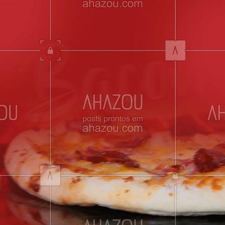 Essa promoção é de pirar! 🥓🤤🥓 #ahazoutaste #diadobacon #promocao #frase #oferta  #pizzaria  #pizza  #pizzalovers #bacon&pizza