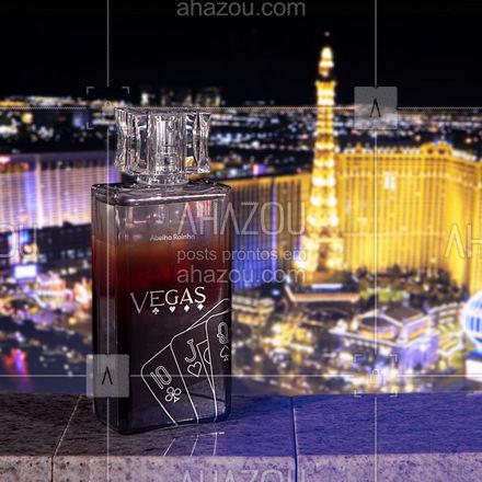 O charme de Vegas traduzido em um perfume. Para homens charmosos, fascinantes e instintivos, que não tem medo de errar! O deo parfum Vegas, traz uma fragrância amadeirada marcante que possui notas bem intensas para fixar na pele, e durar por um bom tempo. Experimente e nos conte o que achou! #AbelhaRainha #Perfume #Lançamento #Fragrancia #Perfumaria #ahazouabelharainha #ahazourevenda