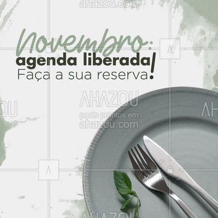 O sabor que você procura, pode estar aqui! Garanta sua reserva! #agendaaberta #agendaliberada #novembro #ahazoutaste #culinaria #gastronomia #instafood