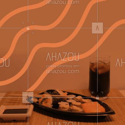 Temos diversas promoções para você levar todo o sabor da comida japonesa para a sua casa, peça já! ?? #ahazoutaste #japa #sushidelivery #sushitime #japanesefood #comidajaponesa #sushilovers