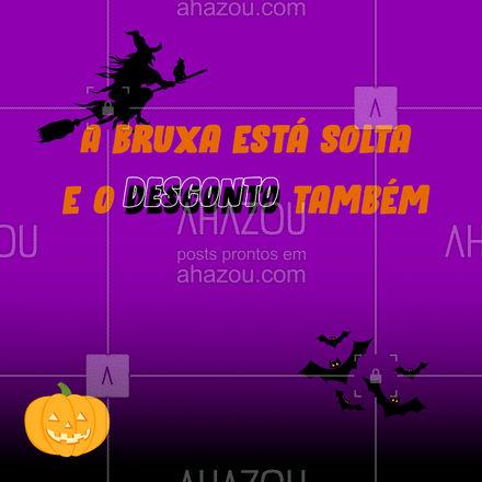 Nesse Halloween preparamos ofertas de arrepiar exclusivamente para você ? Não perca. #halloween #promoção #ahazoutaste #gastronomy #gastronomia #foodlover #ahazoutaste
