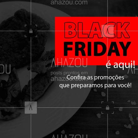 Vai ter Black Friday por aqui também!  Preparamos promoções IMPERDÍVEIS para você aproveitar e encher sua geladeira de carnes ?  Venha conferir!   #carnes #açougue #BlackFriday #promoção #ahazoutaste  #churrasco #meatlover #bbq #barbecue #churrascoterapia
