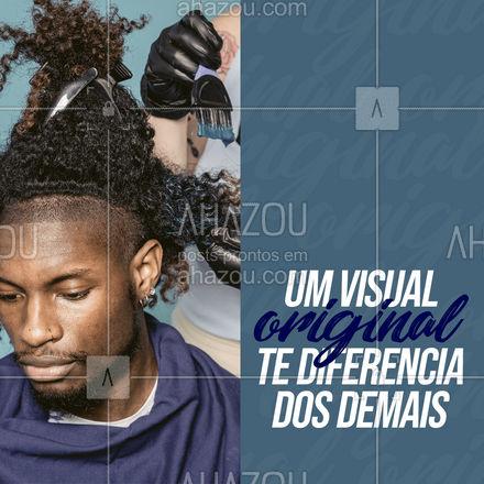 Como anda o seu visual? #AhazouBeauty #barberLife  #barbeiro  #barberShop  #barbearia  #barba  #barber #motivacional #frase #visualoriginal