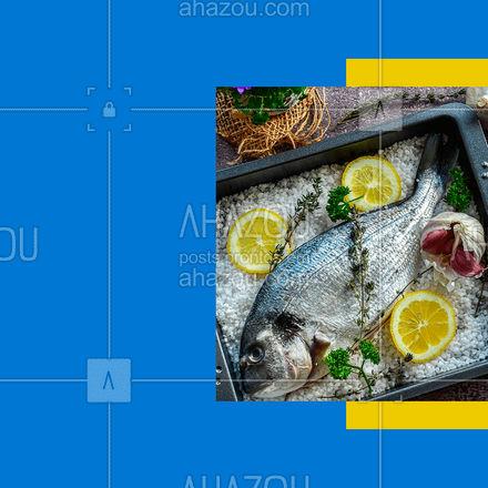 Você merece o melhor, você merece peixe fresquinho! Aqui tem! ? #ahazoutaste  #foodlovers #instafood #frutosdomar #delivery #camarao #peixes #pescados #peixefresco #aquitem #pedido