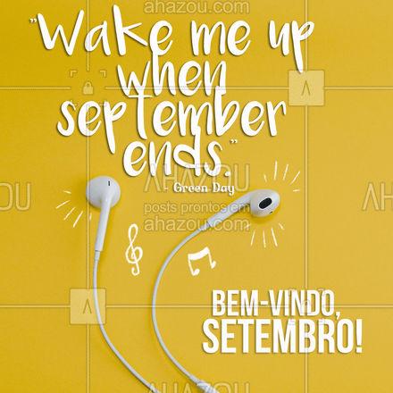 Quem mais gostaria de tirar um cochilinho até o mês acabar? ??? #setembro #greenday #musica #AhazouEdu #aulademusica  #instrumentos  #aprendamúsica