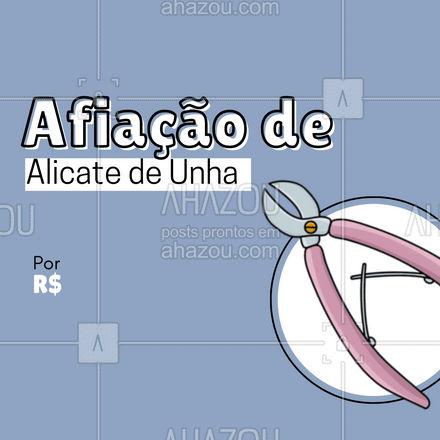 Seu alicate novinho, de novo! ? Traga seus alicates aqui! #AhazouServiços  #chaveiro #serviços #alicate #afiaçãodealicate