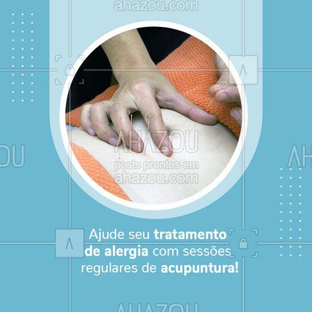 Aumente o fluxo da corrente sanguínea e fortaleça seus sistema imunológico com as técnicas precisas da acupuntura.  #AhazouSaude  #terapiascomplementares #bemestar #energia #vivabem #saude #acupuntura