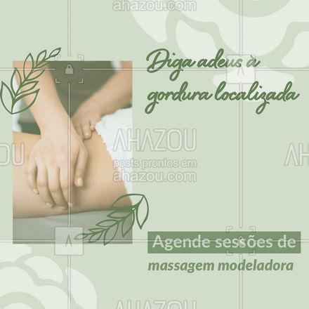 Modele seu corpo e elimine a flacidez com sessões de massagem modeladora. Agende seu horário! Resultados desde a primeira sessão. #massagemmodeladora #massagem #AhazouBeauty  #esteticista #estetica #beleza #esteticacorporal